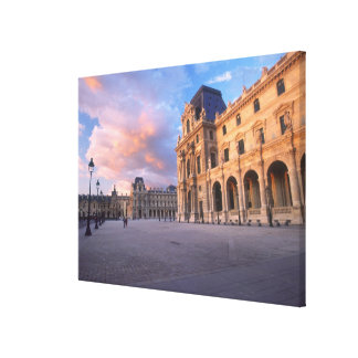 Louvre, Paris, France Canvas Print