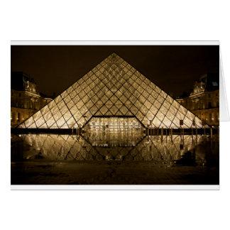 Louvre, Paris/France Card