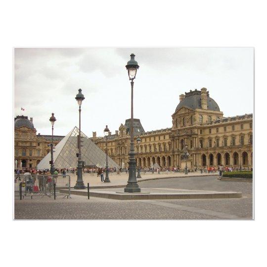 Louvre. Paris, France Card