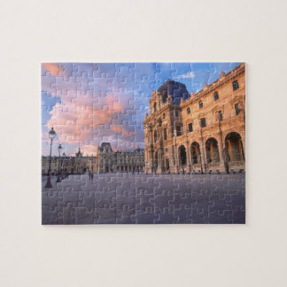 Louvre, Paris, France Jigsaw Puzzle