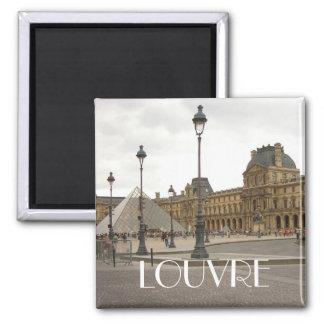Louvre Paris France Magnet