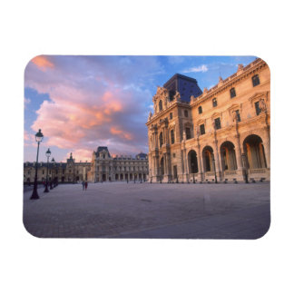 Louvre, Paris, France Magnet