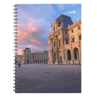 Louvre, Paris, France Notebook