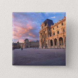Louvre, Paris, France Pinback Button