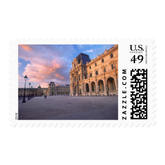 Louvre, Paris, France Postage