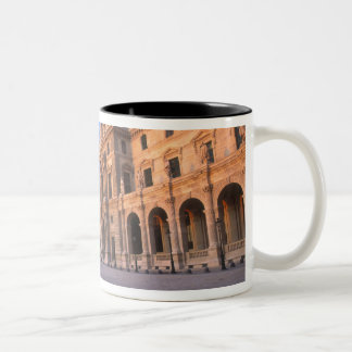 Louvre, Paris, France Two-Tone Coffee Mug