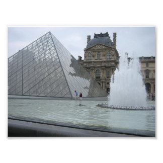 Louvre, Paris Photo Print