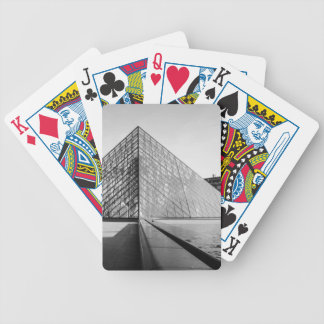 Louvre Pyramid 2 Bicycle Playing Cards