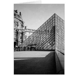 Louvre Pyramid 2 Card