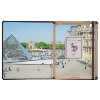 Louvre Pyramid and Palace in Paris iPad Cases
