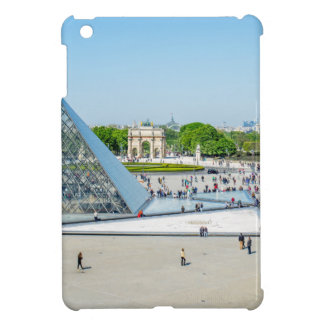 Louvre Pyramid and Palace in Paris iPad Mini Covers