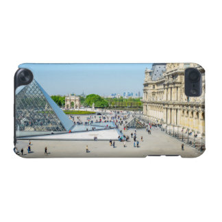 Louvre Pyramid and Palace in Paris iPod Touch (5th Generation) Case