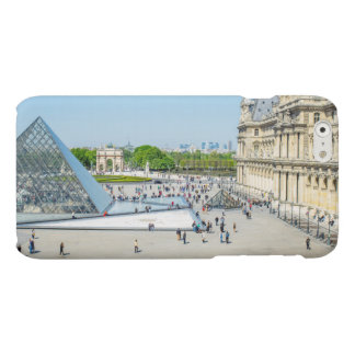 Louvre Pyramid and Palace in Paris Matte iPhone 6 Case