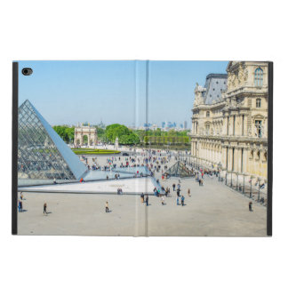 Louvre Pyramid and Palace in Paris Powis iPad Air 2 Case