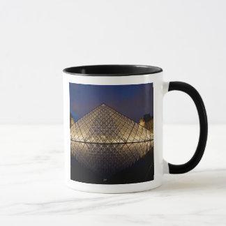 Louvre Pyramid by the architect I.M. Pei at Mug