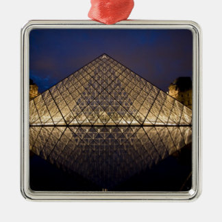 Louvre Pyramid by the architect I.M. Pei at Ornaments