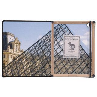 Louvre Pyramid Closeup, Paris iPad Cover