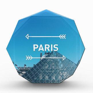 Louvre Pyramid Paris Acrylic Award