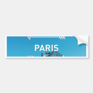 Louvre Pyramid Paris Bumper Sticker