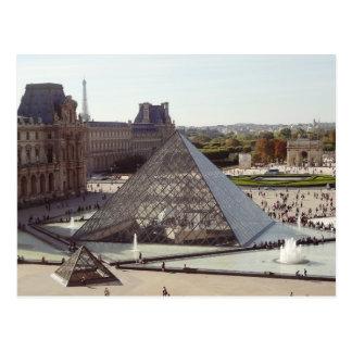 Louvre Pyramid Postcard