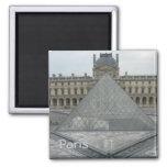 Louvre Refrigerator Magnet