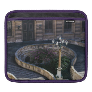 Louvre Staircase, Parisian Archtiecture Photograph iPad Sleeve