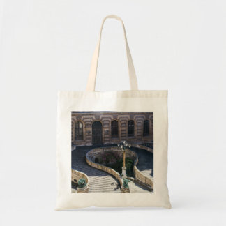Louvre Staircase, Parisian Archtiecture Photograph Tote Bag