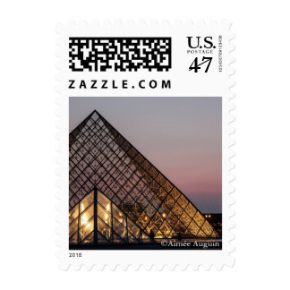 Louvre Stamp