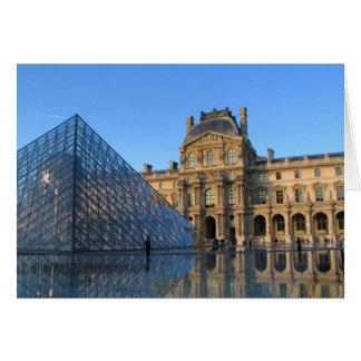 Louvre Tarjeta De Felicitación