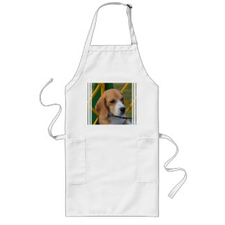 Lovable Beagle Long Apron