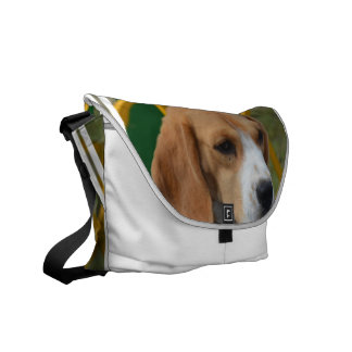 Lovable Beagle Messenger Bag