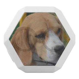 Lovable Beagle White Bluetooth Speaker