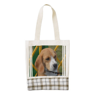 Lovable Beagle Zazzle HEART Tote Bag