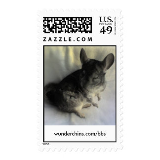 Lovable Chinchilla Stamps