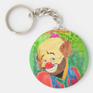 Lovable Clown Keychain