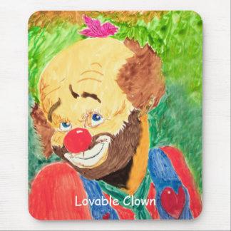 Lovable Clown Mousepad
