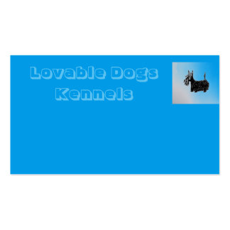 Lovable Dogs Kennels Business Card