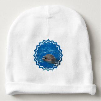 Lovable Dolphin Baby Beanie
