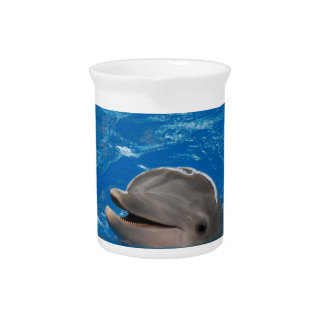 Lovable Dolphin Beverage Pitchers
