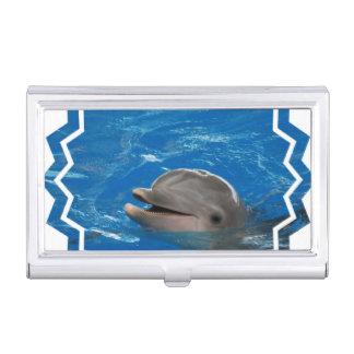 Lovable Dolphin Business Card Case