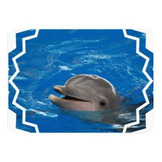 Lovable Dolphin Card