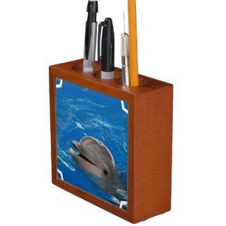 Lovable Dolphin Desk Organizer