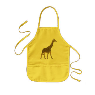 Lovable Giraffe Kids' Apron