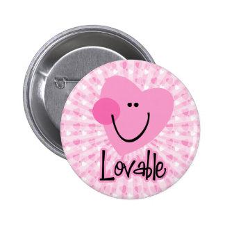 Lovable Heart Button