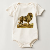 Lovable Lion Baby Bodysuit