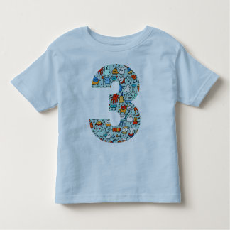 Lovable Little Monsters Number Three Tee