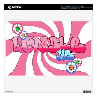 Lovable Me 11 inch MacBook Air Skin 11.8 x 7.56