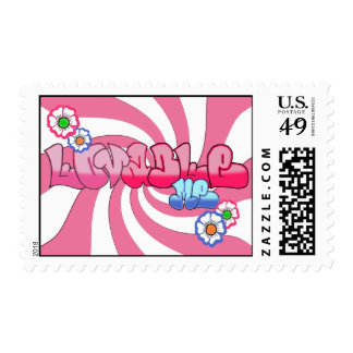 Lovable Me Postage Stamps