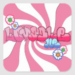 Lovable Me Square Stickers