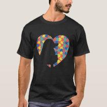 Lovable Poodle Autistic Breeders Illustration T-Shirt